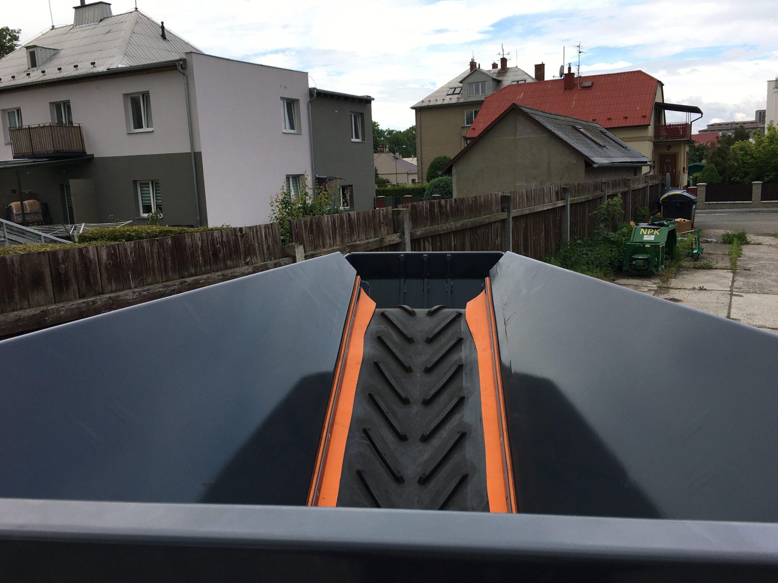Everun - pronájem - čelisťový drtič stavební suti - stavební odpad